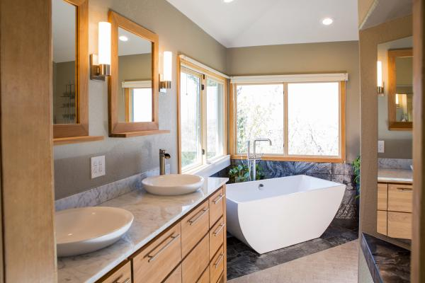 Traditional bathroom design in Golden, Colorado