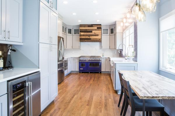 Large kitchen remodel
