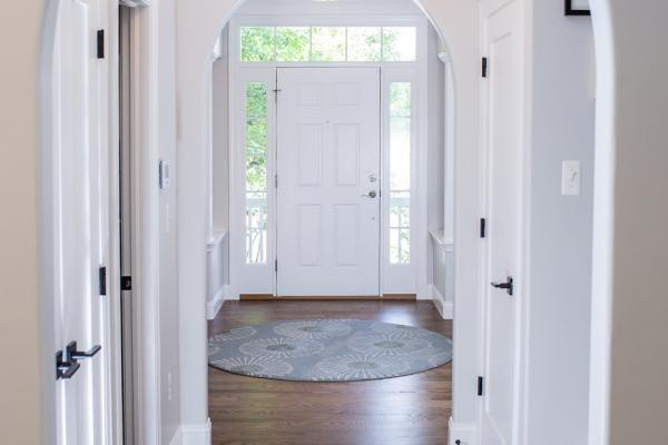 Arched foyer