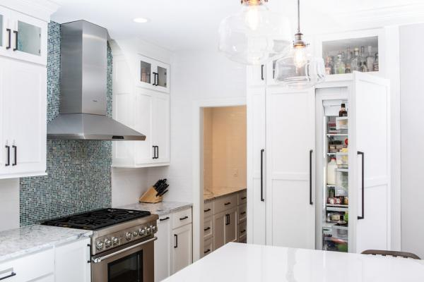 Paneled refrigerator