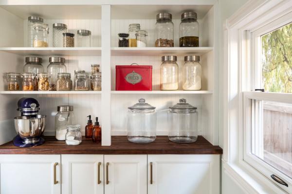 pantry shelving