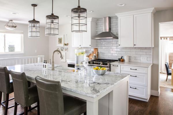Whole kitchen view