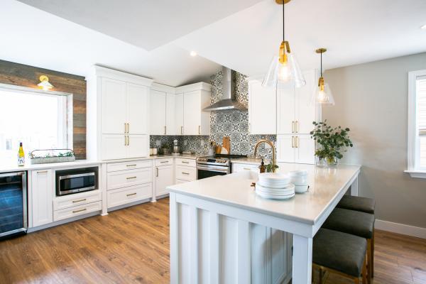 Entire kitchen view